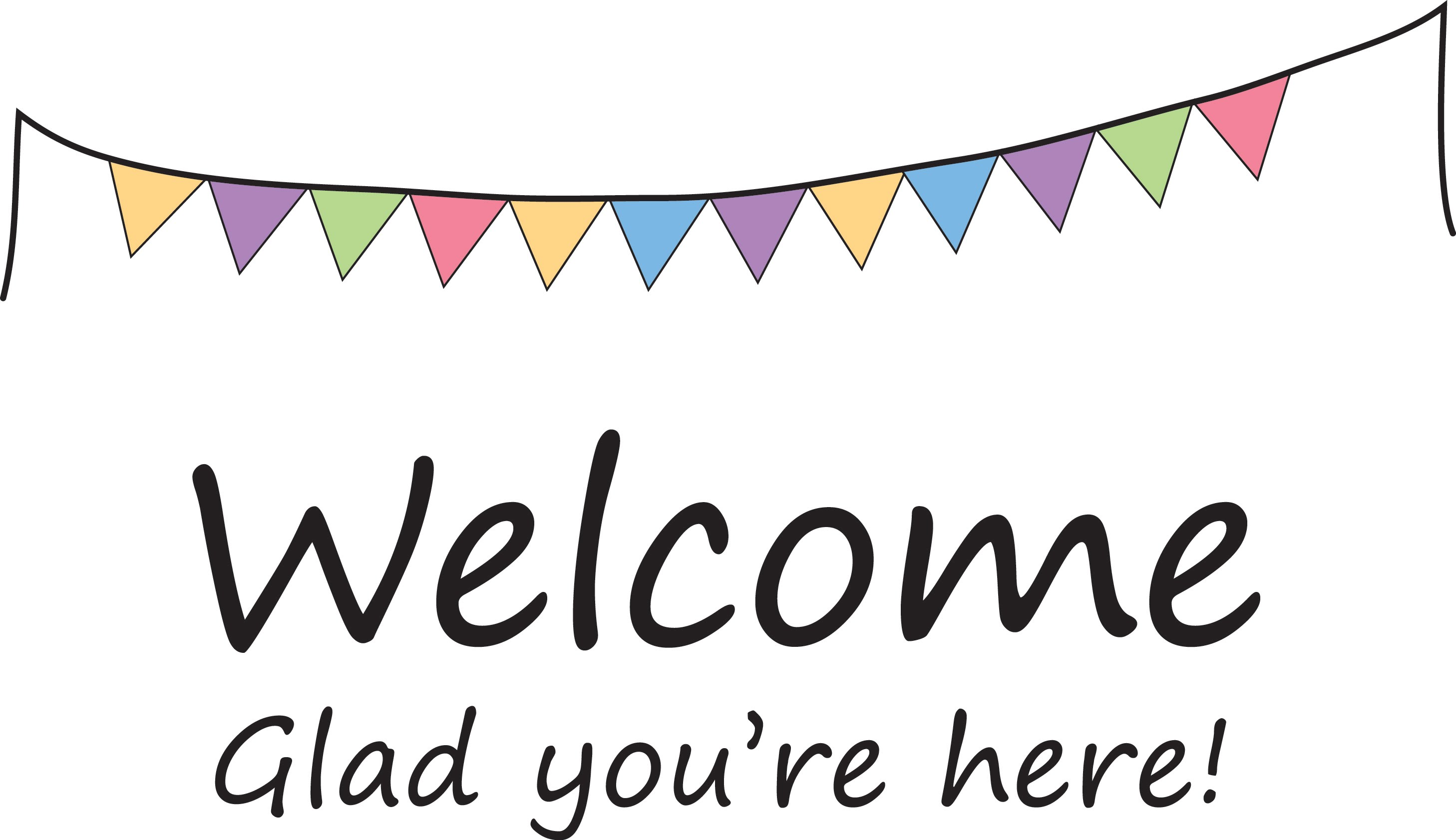Free Clipart Welcome Sign.