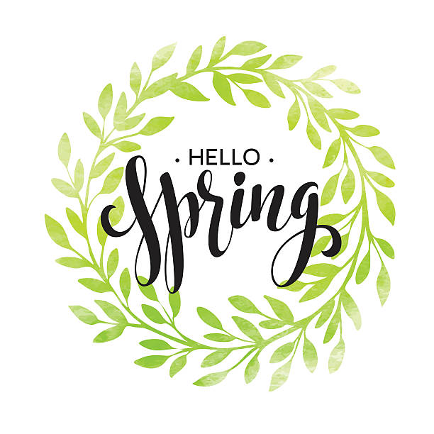 Best Spring Welcome Illustrations, Royalty.