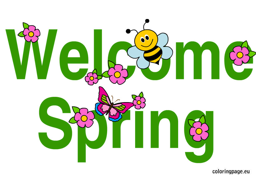 Welcome spring clip art, Free Download Clipart and Images.