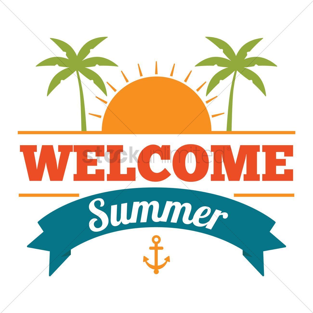 Welcome summer clipart 5 » Clipart Portal.