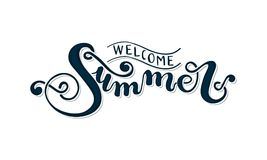 Welcome Summer Stock Illustrations.