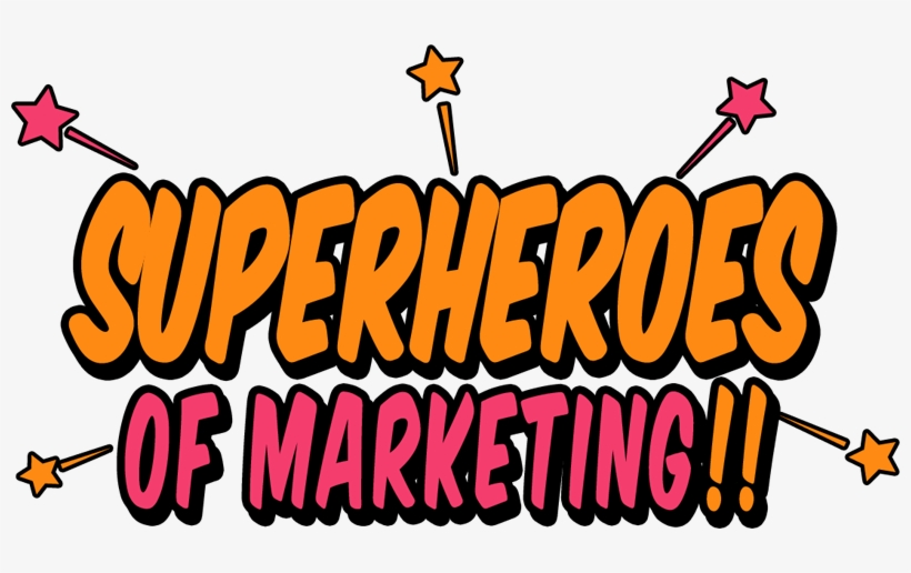 Superheroes Of Marketing Logo.