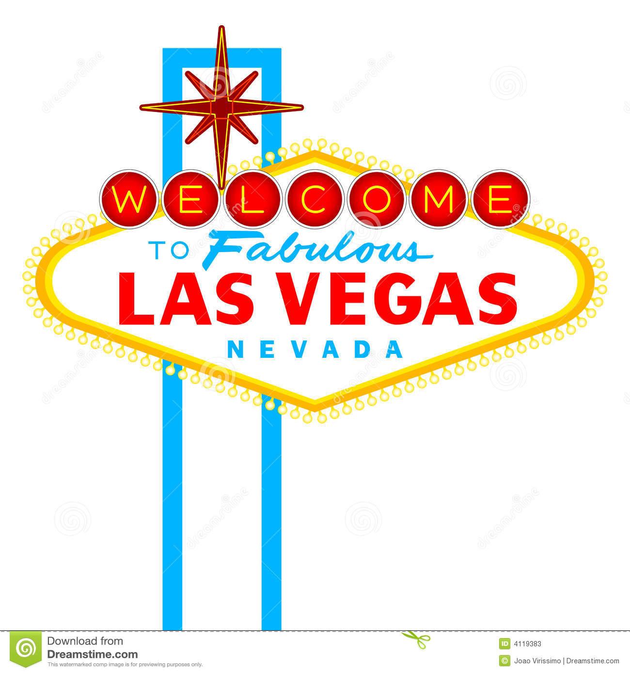 Vegas Sign Clipart.