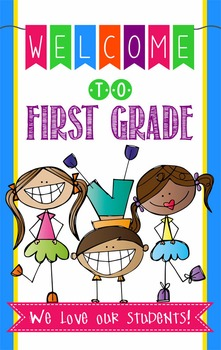 Welcome To 1st Grade Color Worksheets & Teaching Resources.