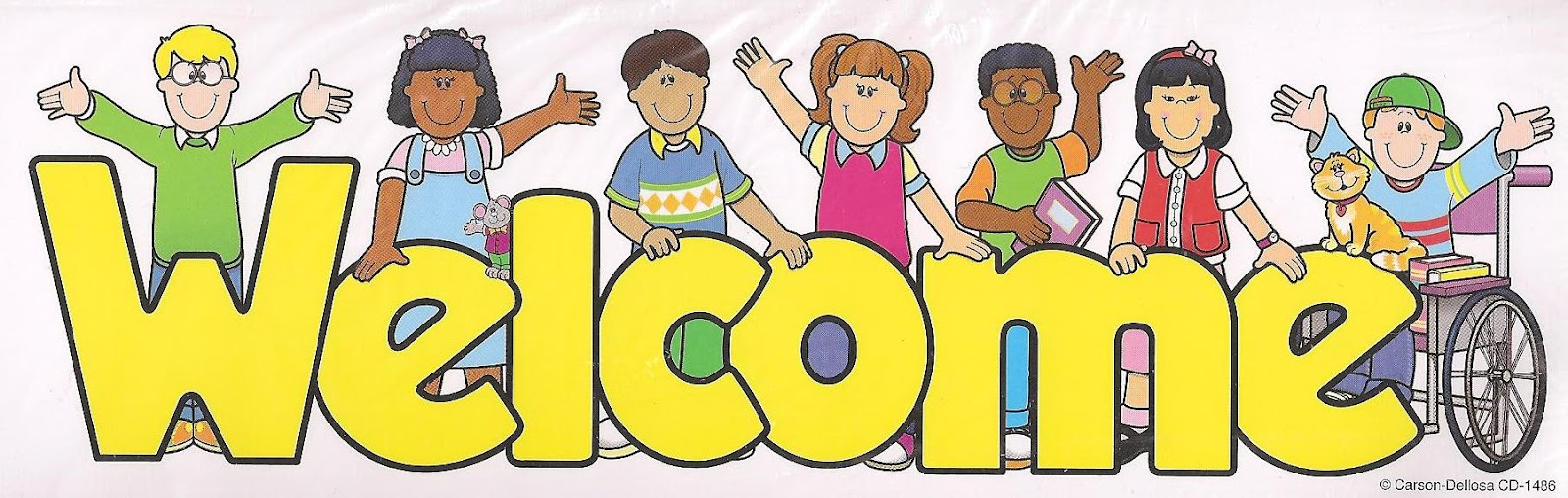 Welcome To Our Classroom Clipart.