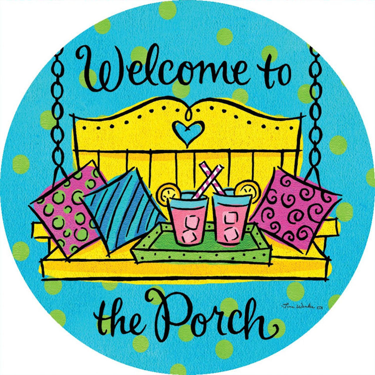 Welcome to the Porch Accent Magnet.