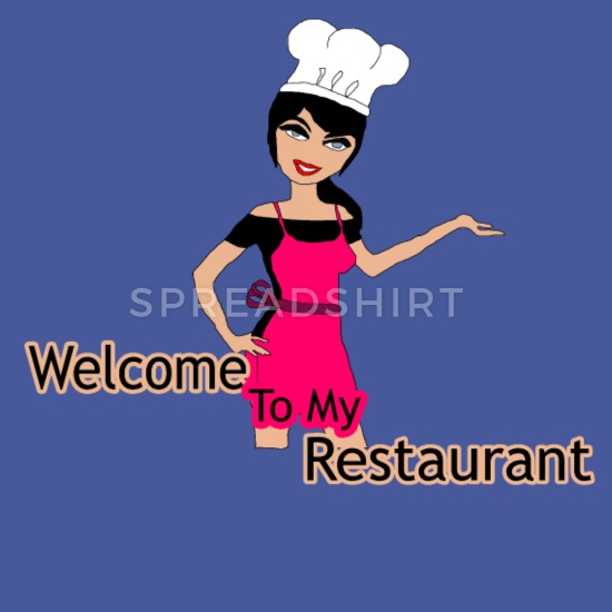 welcome to my restaurant Full Color Mug.