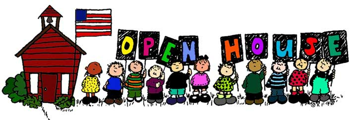 287 Open House free clipart.