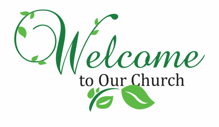Welcome To Our Church Png.