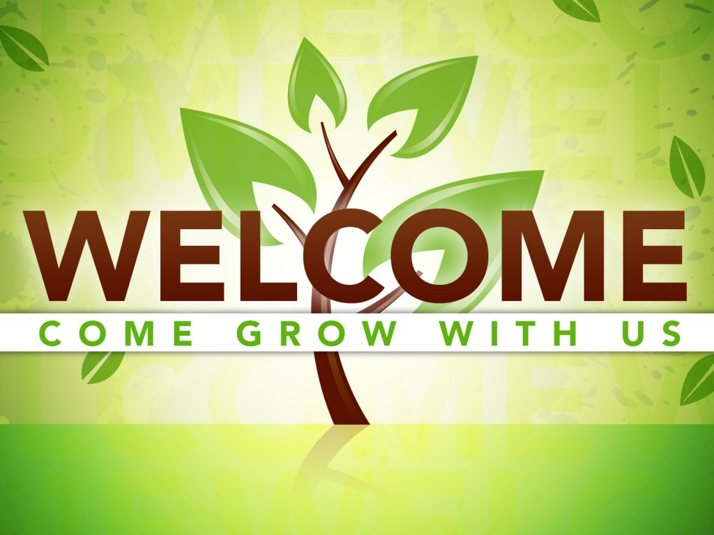 Welcome To Our Church Clip Art free image.