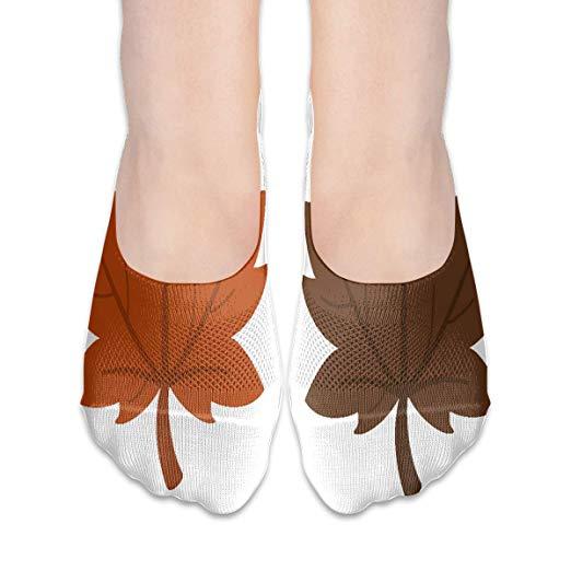 Amazon.com: No Show Socks Brown Leaf Clipart Fantastic.