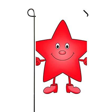 Amazon.com : Welcome Garden Flag Banner Smile Star Clipart.