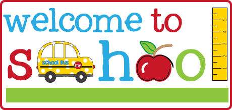 Welcome To School Clipart 11.