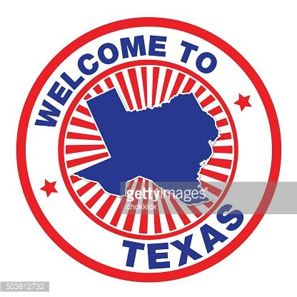 Welcome to Texas Sign Clipart Image.
