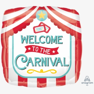 Carnival Transparent Welcome.