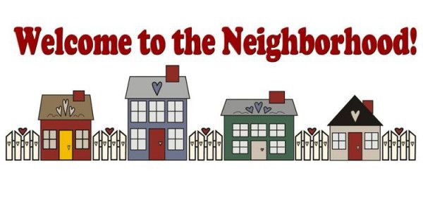 Welcome to the neighborhood clipart 2 » Clipart Station.