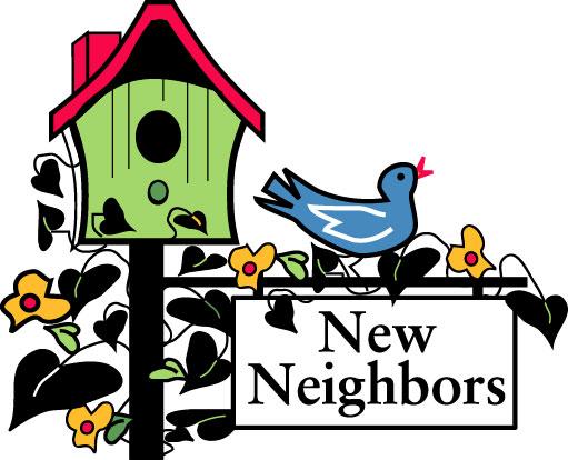 Neighbors Clipart Free.