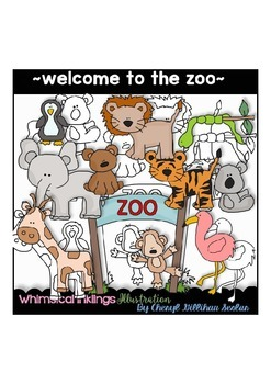 Welcome to the Zoo Clipart Collection.