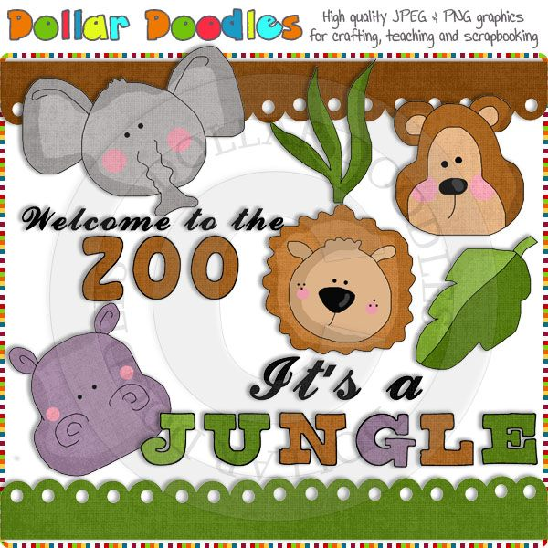 Welcome To The Zoo Clip Art Download.