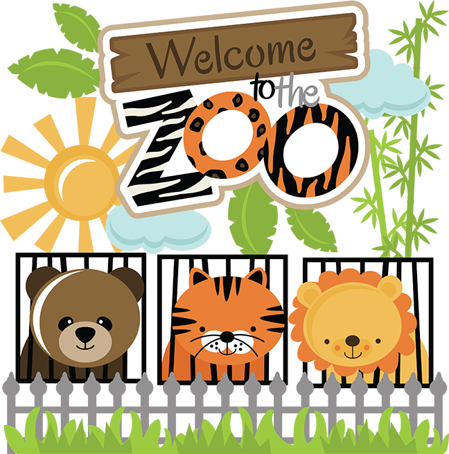 Welcome To The Zoo Clipart.