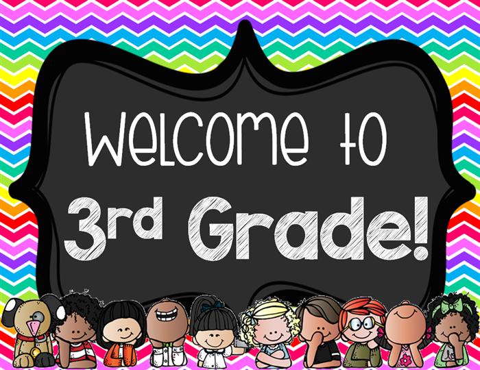 Third Grade / Welcome.