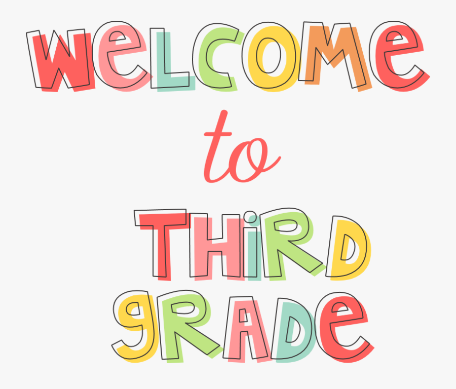 Welcome To 3rd Grade.