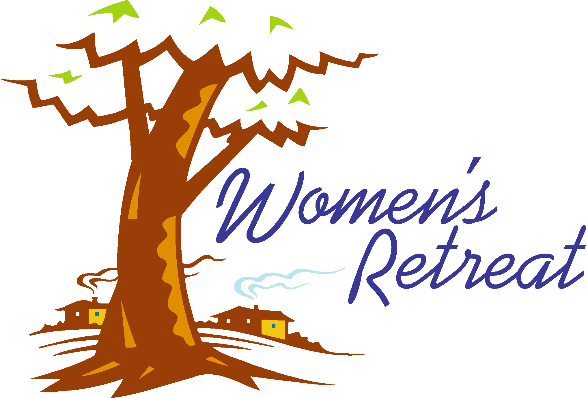 Ladies Retreat Clipart.