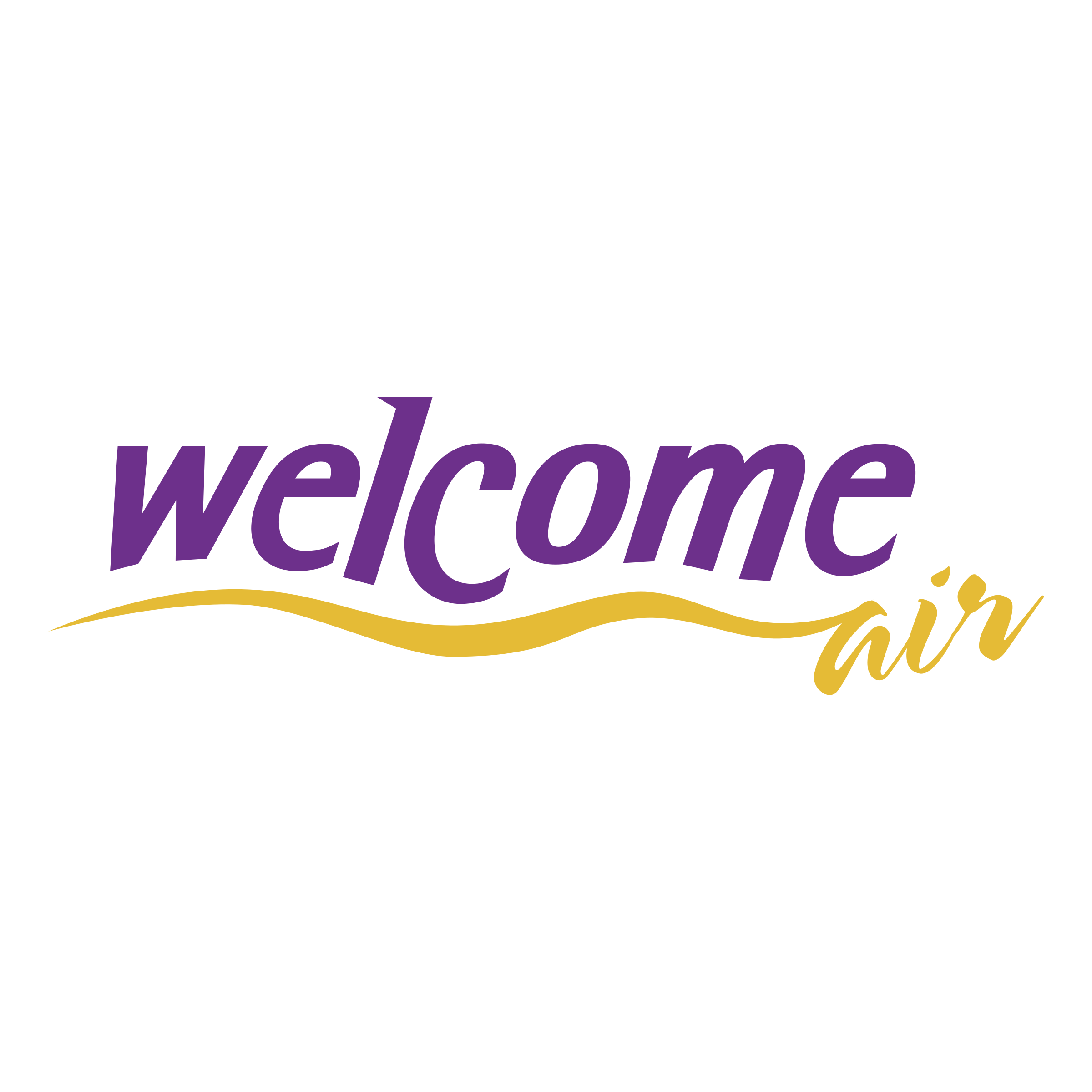 Welcome Air Logo PNG Transparent & SVG Vector.