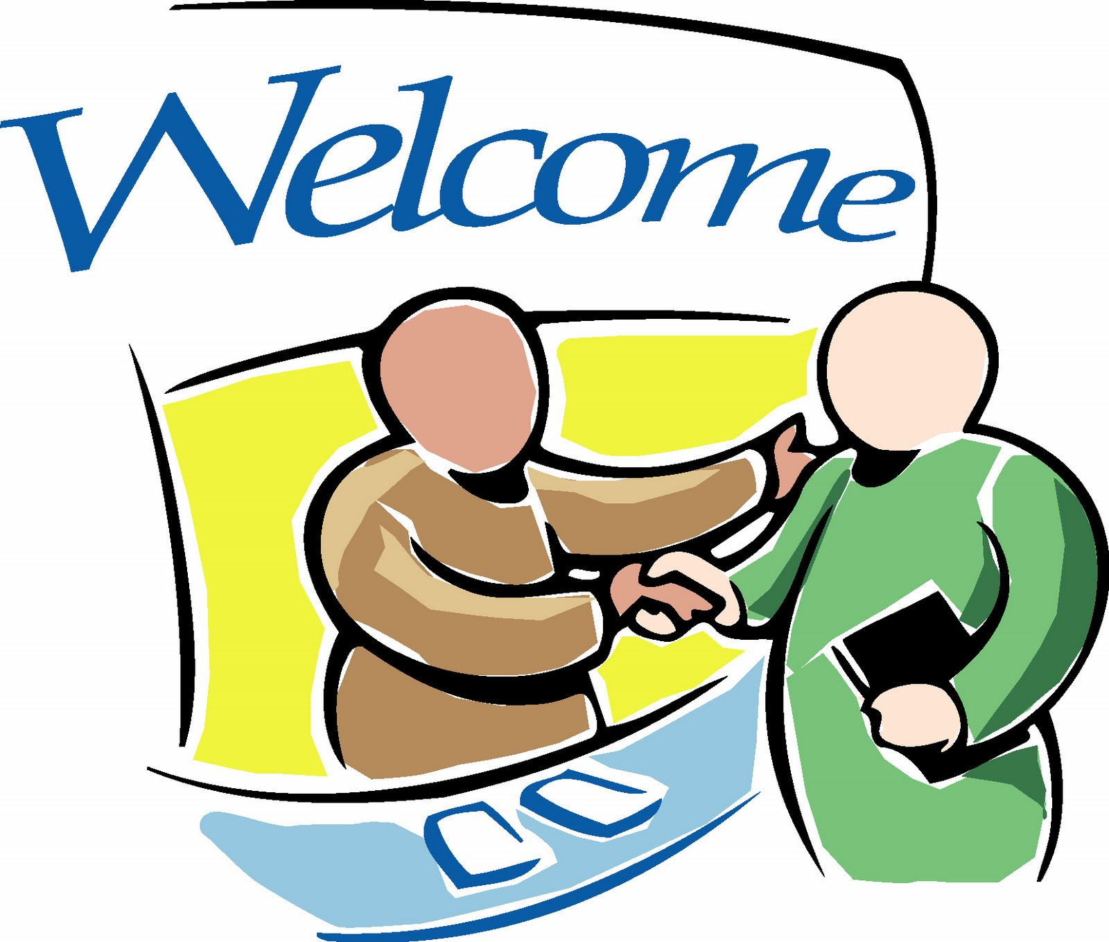 Welcome visitors clipart (42 ).
