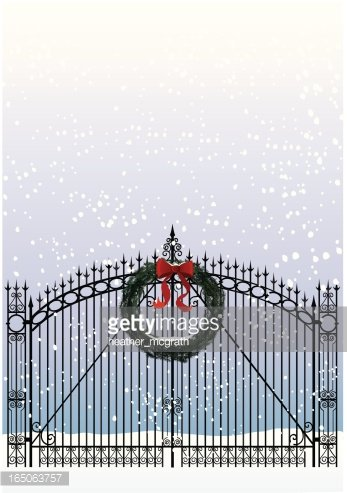 Welcome Home for Christmas! premium clipart.