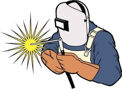 Welding sparks clipart.