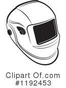 Welding Helmet Clipart #1.