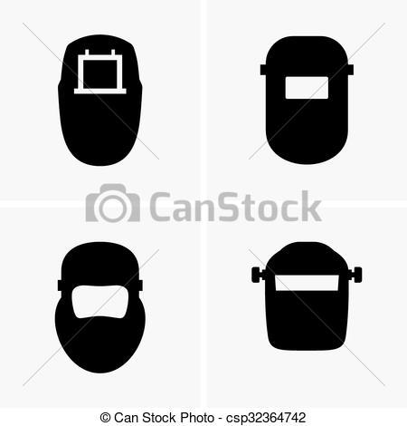 Vectors Illustration of Welding Helmet.