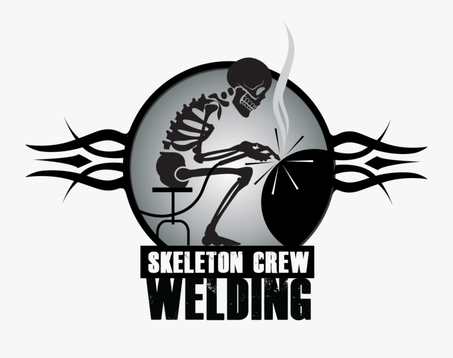 6 Skeleton Crew Welding Logo New , Free Transparent Clipart.