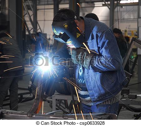 Pictures of welding operator 2.