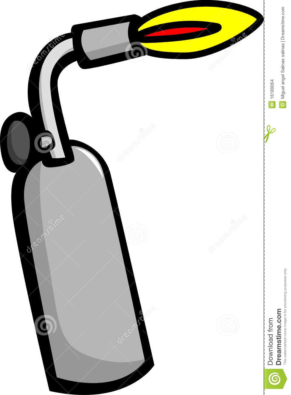 Welding Torch Clipart.