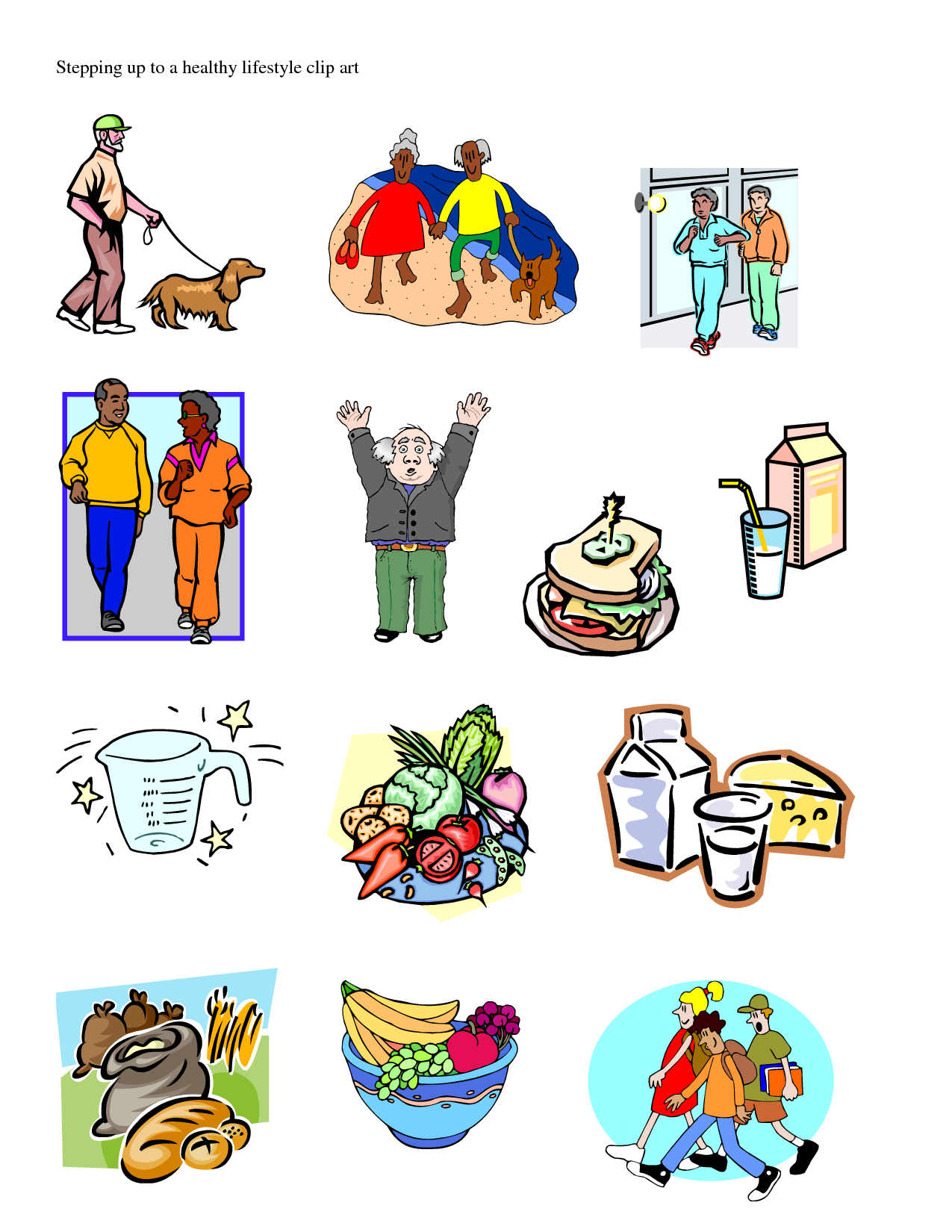 Free Images Of Healthy Lifestyle, Download Free Clip Art.
