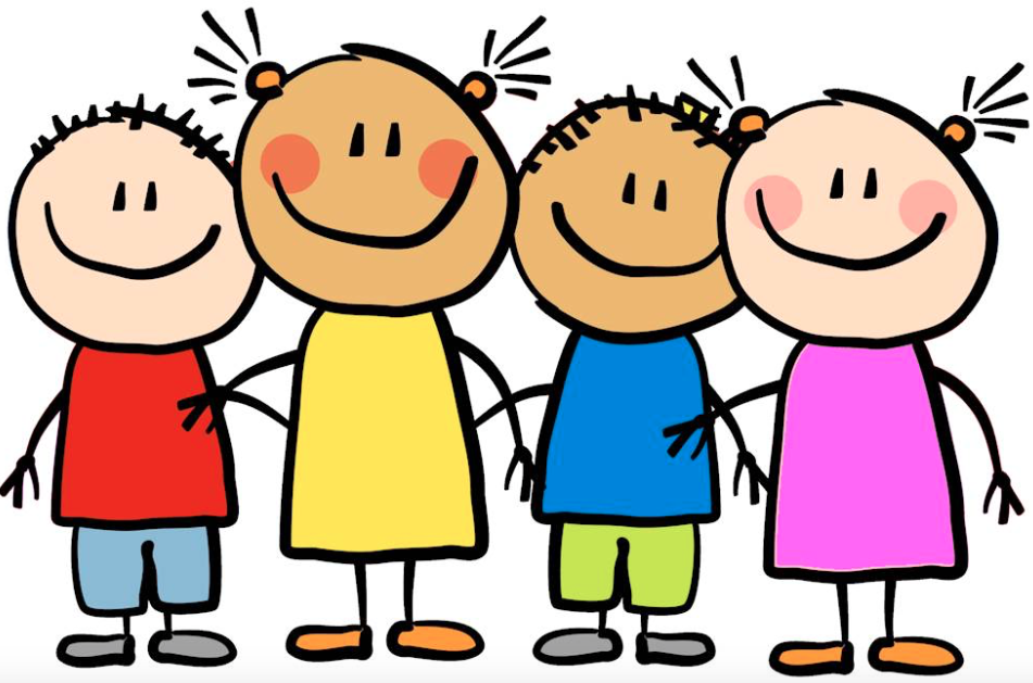 Well Behaved Children Clipart.