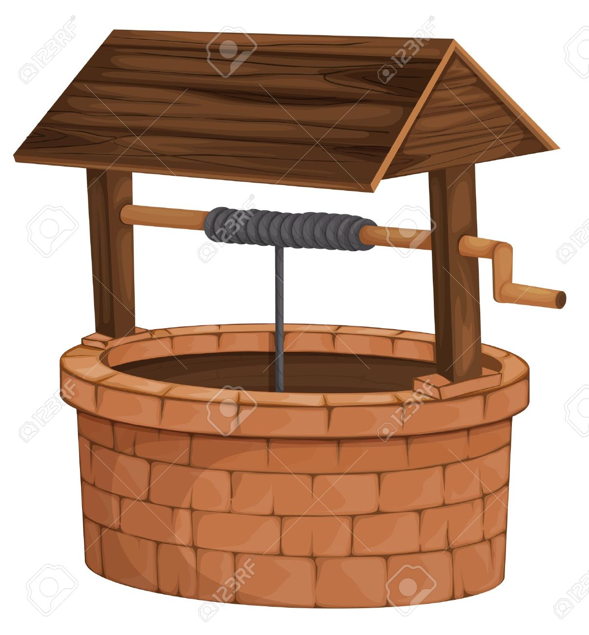 Water well clipart.