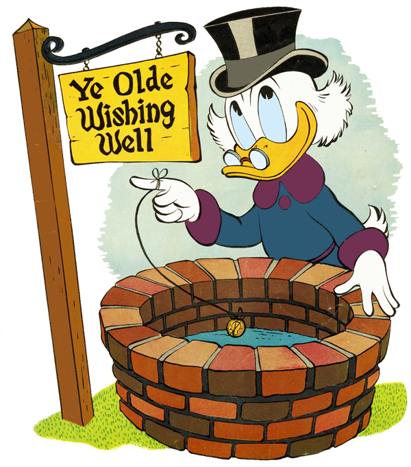 Wishing Well Free Clip Art free image.