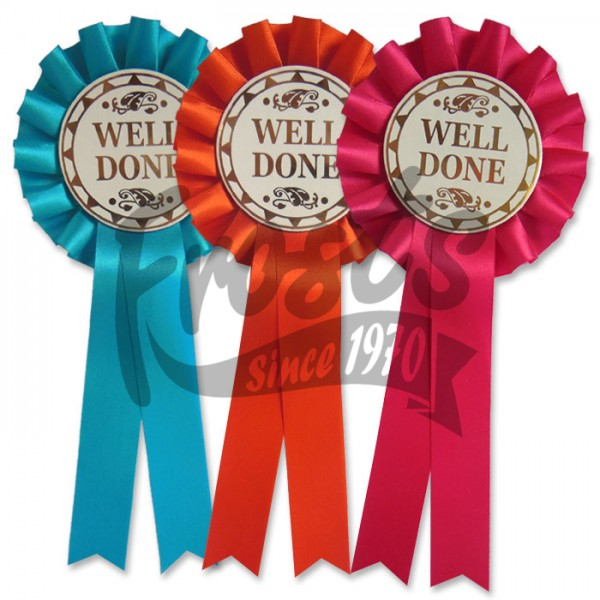 Well Done Rosettes.