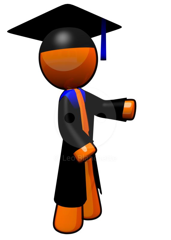 Educated Person Clipart.