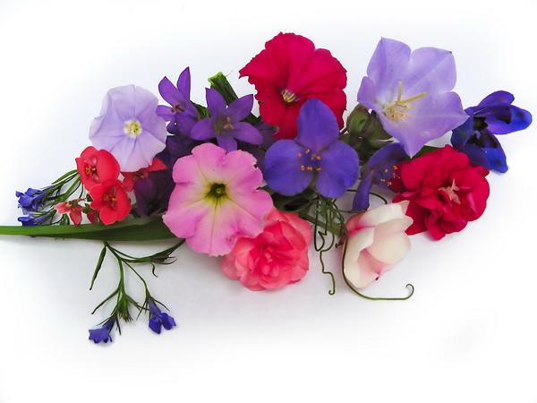 Memorial Day Clip Art Flower Arrangement, Ready Flowers arranges.