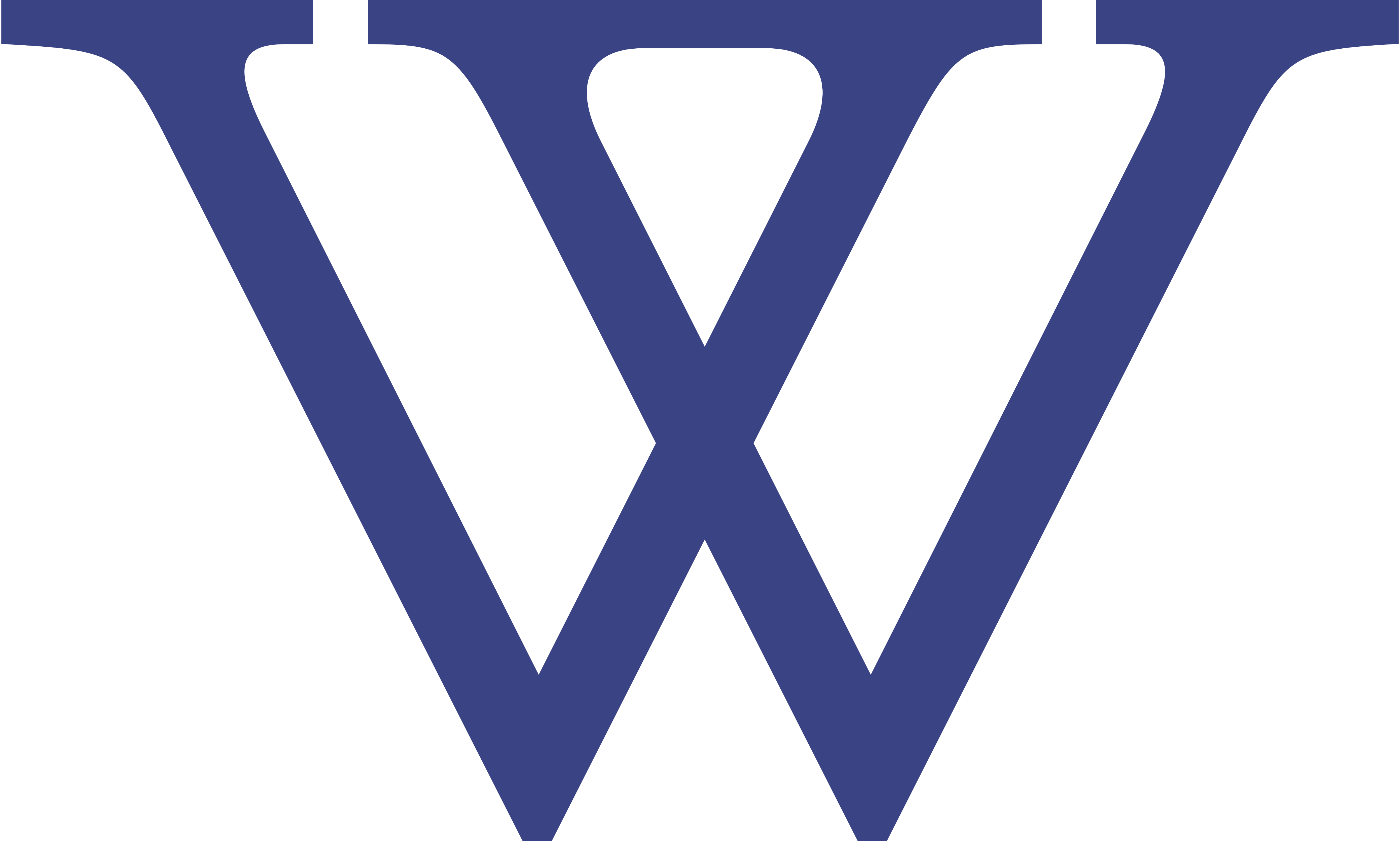 Wellesley logo, W only.