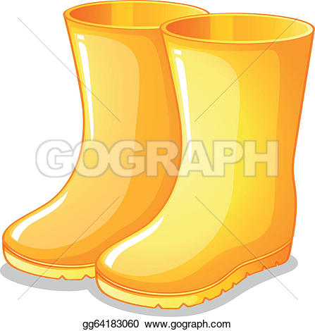 Royalty Free Wellington Boots Clip Art.