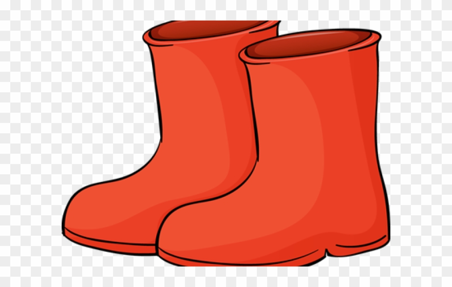 Red Boots Cliparts.