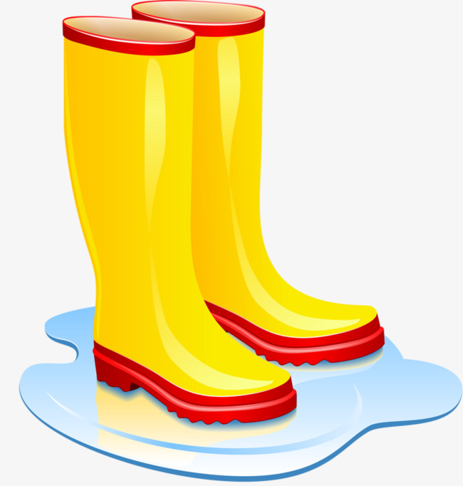 Welly Boots Clipart.
