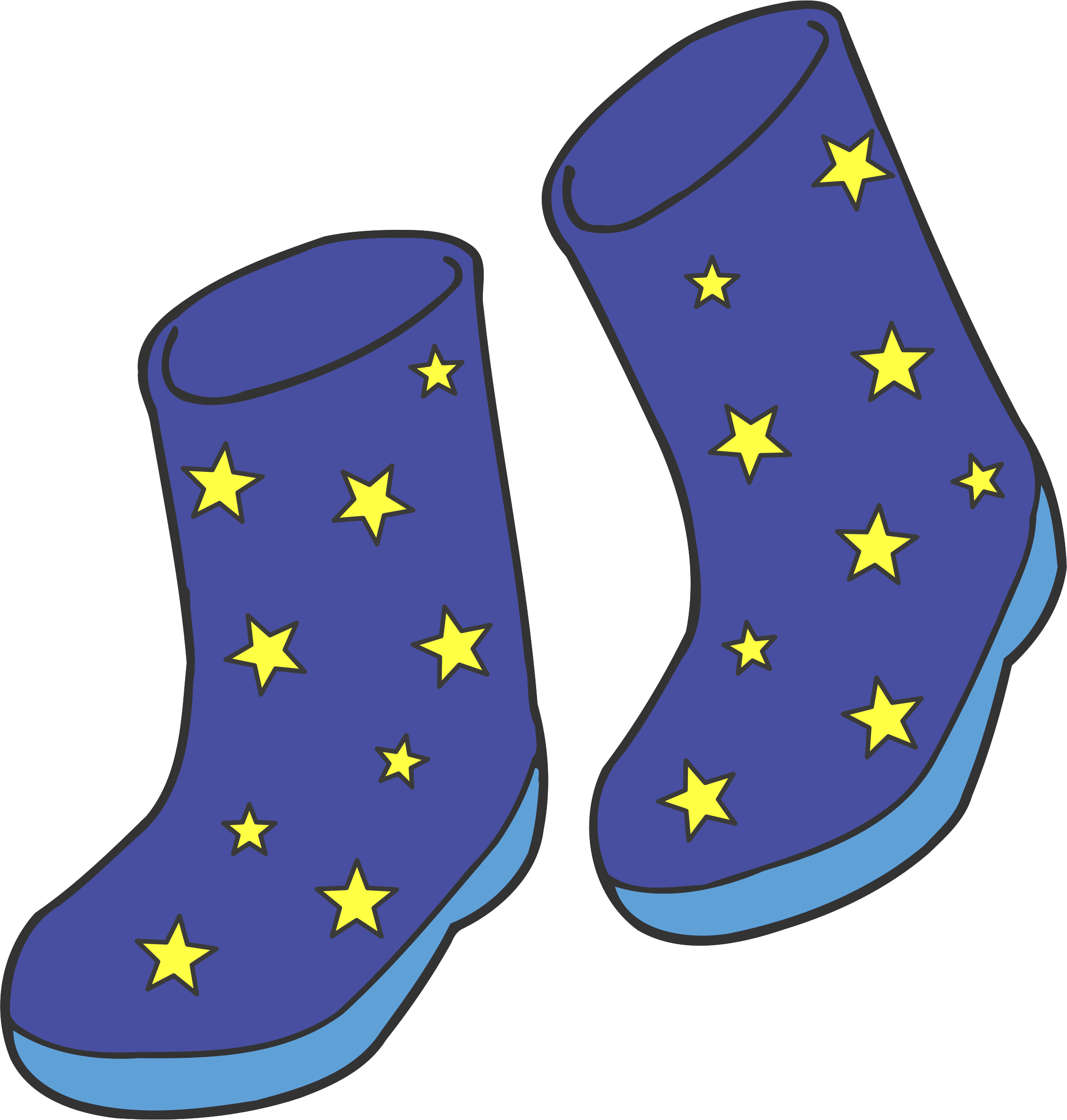 Sock clipart blue boot, Sock blue boot Transparent FREE for.