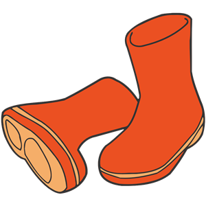 Wellington boots 2 clipart, cliparts of Wellington boots 2.