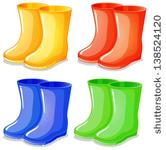 Rain Boots Clipart Free Stock Photo.
